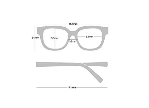 sol color personalizadas B amp;Gafas C Lente amp; sol de de X226 de reflectante marco de de cine Color grande Gafas Gafas protecciónn PqwqnRx6Z1