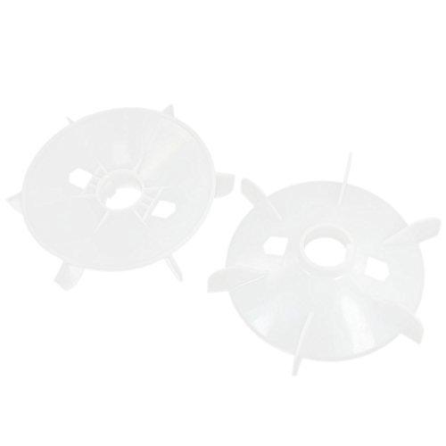 2pcs 43 mm Diámetro interior 6 aspas del impulsor del motor de plástico paletas del ventilador Ruedas - - Amazon.com