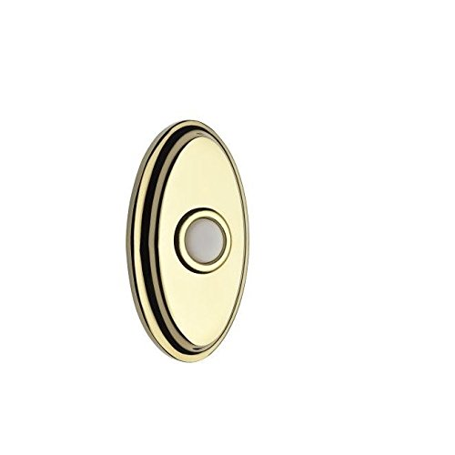 Baldwin 9BR7016-004 Oval Bell (Oval Bell Button)