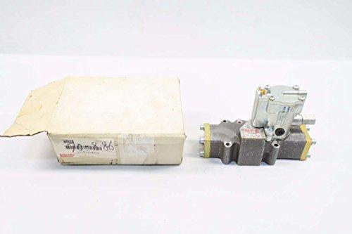 PARKER L6753910253 SCHRADER BELLOWS 120V-AC SOLENOID VALVE D566514 ()
