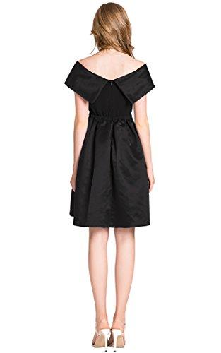 DANTTAN-Womens-Vintage-Off-The-Shoulder-Prom-Formal-Dress