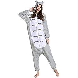 Yimidear® Unisex Cálido Pijamas para Adultos Cosplay Animales de Vestuario Ropa de dormir (M, Vecino Totoro)