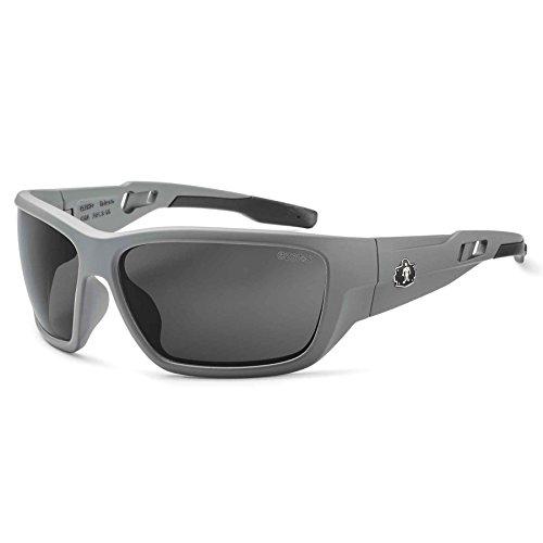 Ergodyne Skullerz Baldr Anti-Fog Safety Sunglasses-Matte Gra