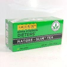 Extra Strength Dieters' Nature-Slim Tea Triple Leaves Brand , 20 Tea Bags (Pack of 6)