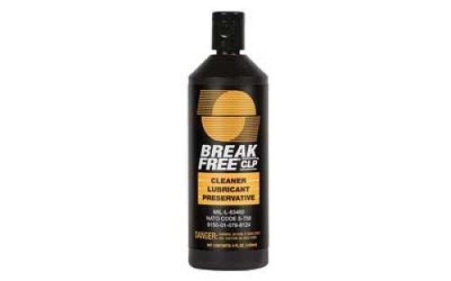 Break-Free Gun Cleaning CLP-4 Cleaner/Lubricant/Preservative 4 FL OZ, Case of 10