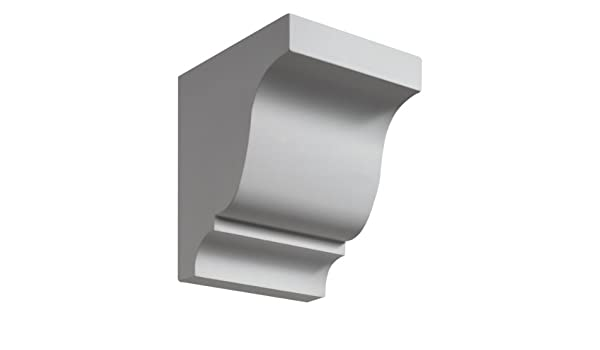 Set of 2 Fypon PIL8X90P 8W x 90H x 2 1//2P Smooth Pilaster Moulded with Plinth Block 1 Piece