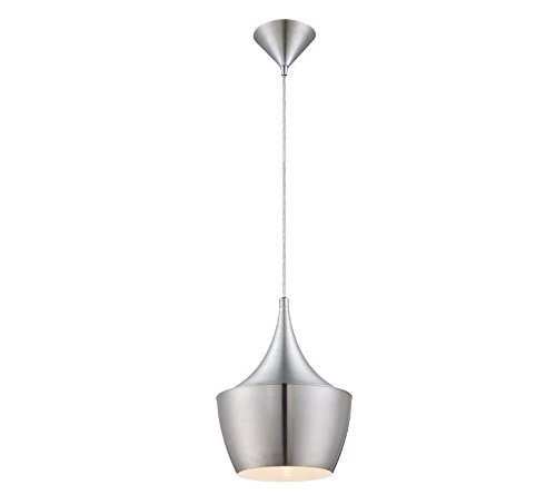 Home Decorators Collection 1-Light Brushed Aluminum Pendant