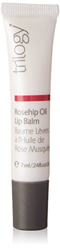 Trilogy Rosehip Oil Lip Balm for Unisex, 0.24 Ounce