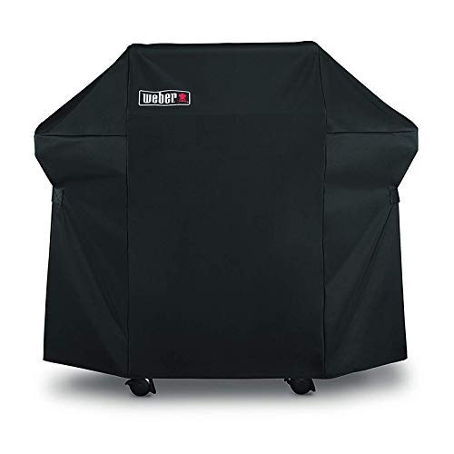 Weber Grill Cover 7106 Cover for Spirit 200 and 300 Series Gas Grill (52L x 26W x 43H inch) (Renewed) ()
