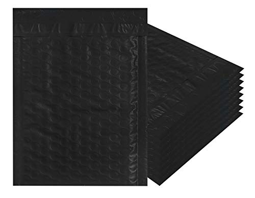 (Poly Bubble mailers Padded envelopes 9.5 x 13.5. Pack of 10 Large Black Cushion envelopes 9 1/2 x 13 1/2. Exterior Size 10x14. Peel-N-Seal. Mailing & Shipping & Packaging & Wrapping. Mfg# 10x13.)