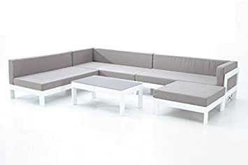 Set terraza sofa lounge modular laos: Amazon.es: Jardín
