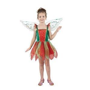 Christmas Fancy Dress Kids.Christmas Fairy Girls Fancy Dress Costume Kids Size Small