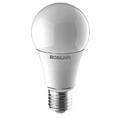 Roblan led - Lámpara estandar e27 12w 3000k 1155lm calida: Amazon.es: Bricolaje y herramientas