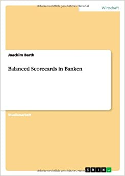 Book Balanced Scorecards in Banken