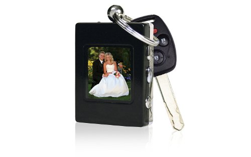 Sharper Image Digital Photo Keychain, 1.4-Inch