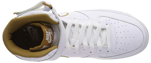 Force white Mid Da Scarpe muted 101 Multicolore Bronze Air Fitness Nike '07 1 Uomo Lthr PtxfSHcqw5