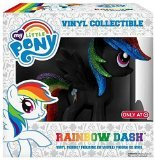 mlp vinyl figure - My Little Pony Rainbow Dash Inverted Black Exclusive Vinyl Figure