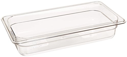 Royal Industries Steam Table Pans, polycarbonate, 2'' Third-Size, clear by Royal Industries