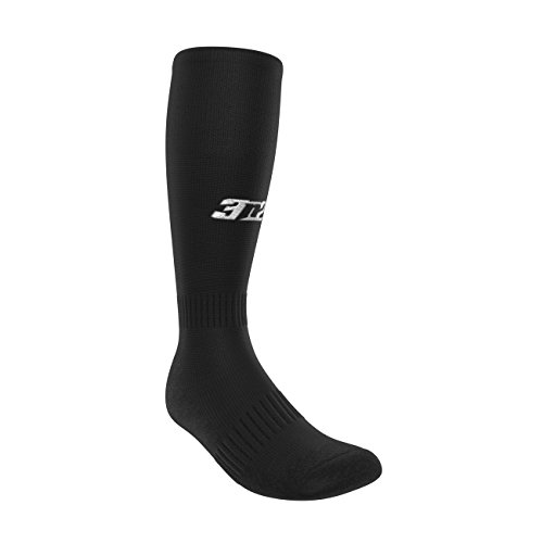 3N2 4200-01-M Full Length Socks - Black, Medium