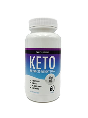 Flawless Keto Diet – Keto Advanced Weight Loss – Burn Fat Instead of Carbs – Ketosis Supplement – 30 Day Supply