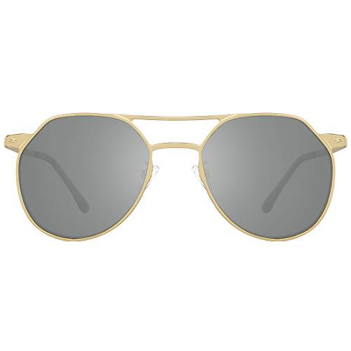 TIJN Polarized Sunglasses for Men Women Classic Pilot Mens Sunglasses 100% UV ()