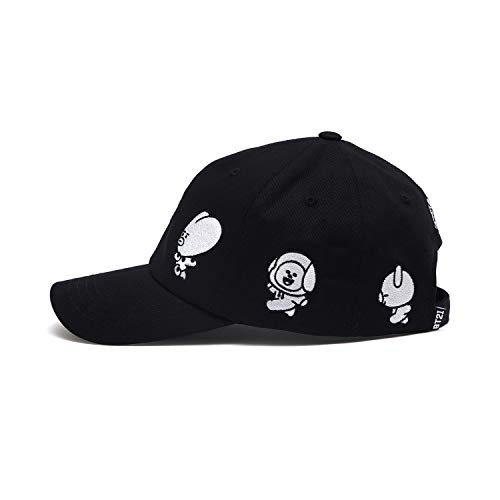 a70e5ce5 BT21 Official Merchandise by Line Friends - Character Baseball Cap Hats for  Men and Women