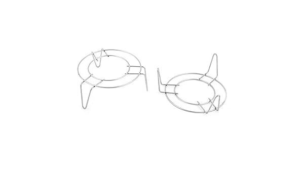 Amazon.com: eDealMax acero inoxidable Inicio 3 piernas Diseño ...