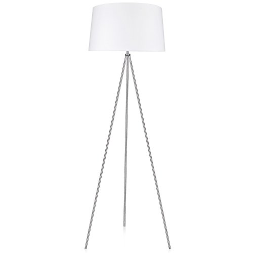 LEPOWER Metal Tripod Floor Lamp, Modern Design Standing Light for Living Room, Bedroom, Study Room and Office