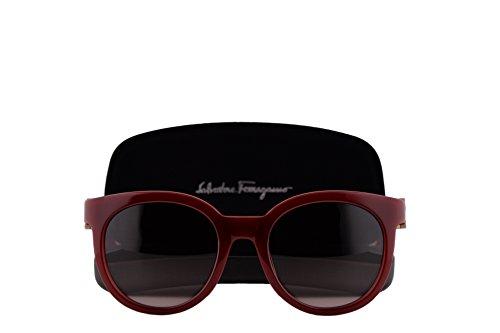Salvatore Ferragamo SF783S Sunglasses Red w/Red Gradient Lens 613 SF - Selena Sunglasses Gomez Red