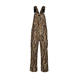 Natural Gear Uninsulated Camouflage Bib Overall for Men, Non-Insulated, Cotton Poly Blend Hunting Coveralls for Warm…