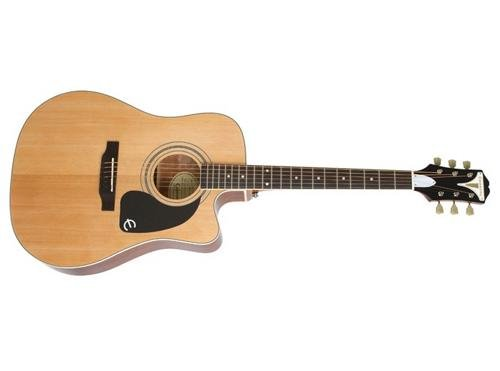 Epiphone EEPUNACH1 PRO-1 ULTRA Acoustic/Electric Guitar, Natural