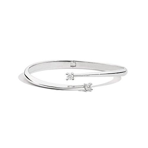 Bracelet recarlo Eternity b02ri349/039or blanc diamant