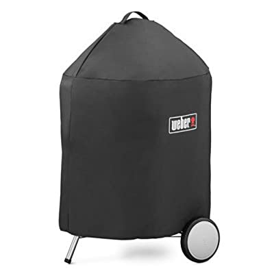 Weber 7150 Grill Cover with Storage Bag for Master-Touch Charcoal Grill from Weber Stephen Company- Accessories