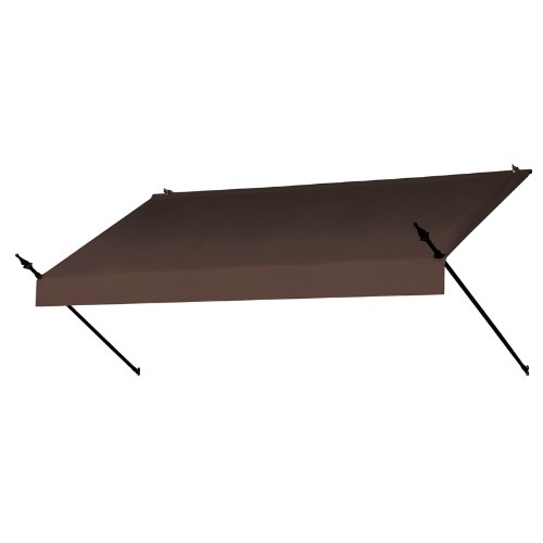 Coolaroo Awnings in a Box Replacement Cover Designer 8-Feet Cocoa