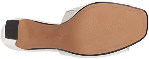 STEVEN by Steve Madden Women's Jensen Heeled Sandal White Leather explore for sale discount clearance uzn4yyqS