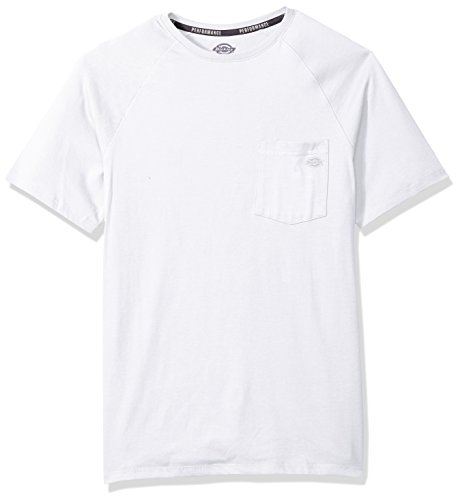 Dickies Men's Short Sleeve Performance Cooling Tee, White, 2X - Cotton Performance Short Sleeve Tee