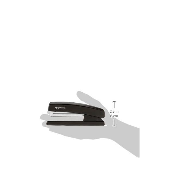 AmazonBasics Stapler with 1000 Staples - Black 6