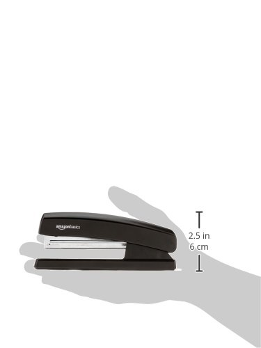 Large Product Image of AmazonBasics Stapler with 1000 Staples - Black