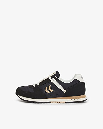 Humlebi Unisex-voksen Marathona Racer Sneaker Sort L4ialk