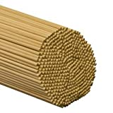 100 Pcs, 1/4'' X 48'' Birch Wood Dowels Hardwood