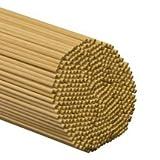 500 Pcs, 1/4'' X 36'' Birch Wood Dowels Hardwood