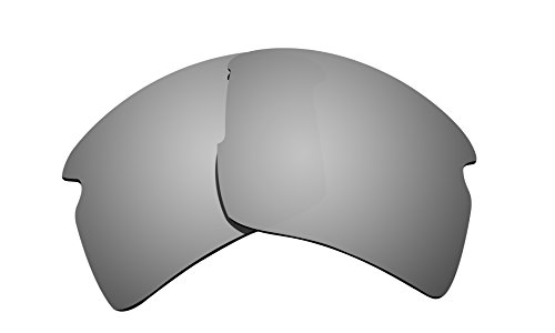 Brand New Littlebird4 1.5mm Polarized Replacement Lenses for Oakley Flak 2.0 XL Sunglasses - Multiple Options (Silver - Mens Brands Sunglasses Good