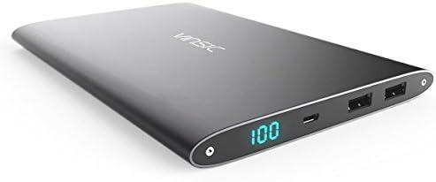 VINSIC Batería Externa 20000mAh, Cargador Portátil, 5V 2.1A / 1A ...