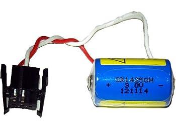8 X Cr14250Se-Tc23-1 3 Volt Lithium Batteries (Connector) (Allen Bradley 1747-Ba 1769-Ba)