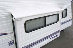 Carefree LH0730042 White Slideout Cover by CAREFREE