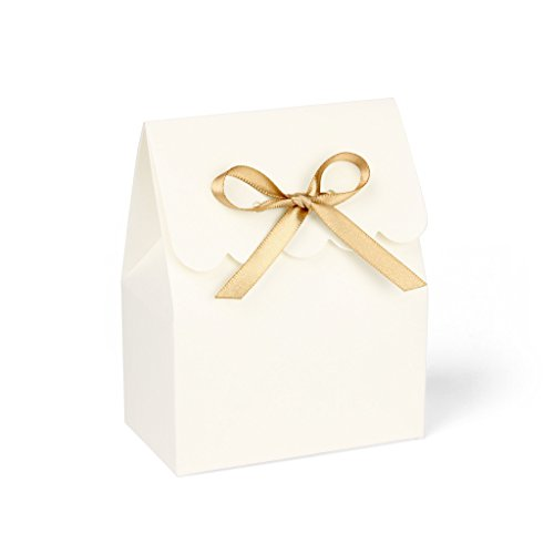 ivory-favor-boxes-with-gold-satin-ribbon-set-of-8
