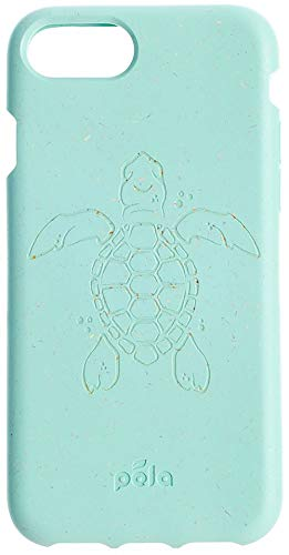 Pela Case - Limited Edition Turtle Conservation - iPhone 7/8 (7/8-Ocean Turquoise Turtle Edition) (Cell Phone Recycling)