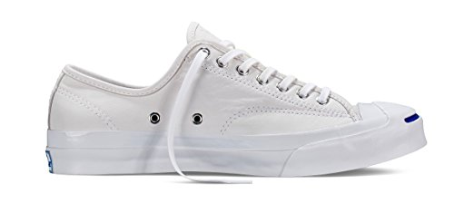 Converse Unisex Jack Purcell Signature White/White 151446C 3.5 Men/Women - Leather Purcell Converse Jack