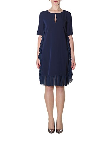 Blumarine Damen 1567109 Blau Polyester Kleid 6jTi1e9Do