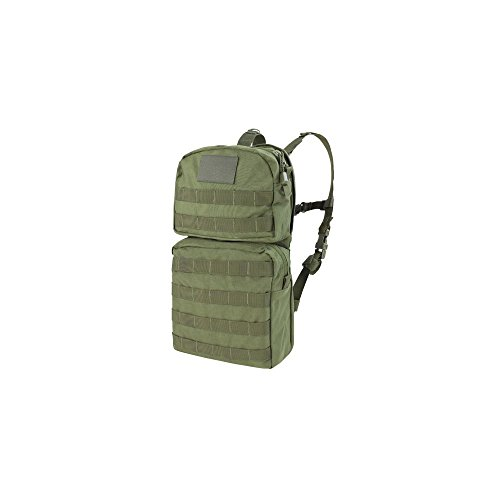 Molle Hydration Backpack Pack with Bladder-OD Green ()